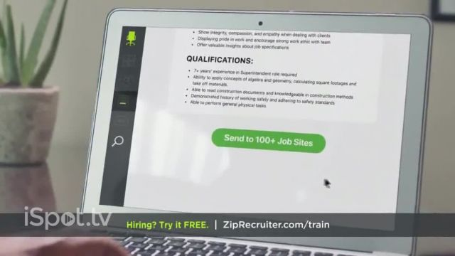 ZipRecruiter TV Commercial Ad 2021, Being a Builder