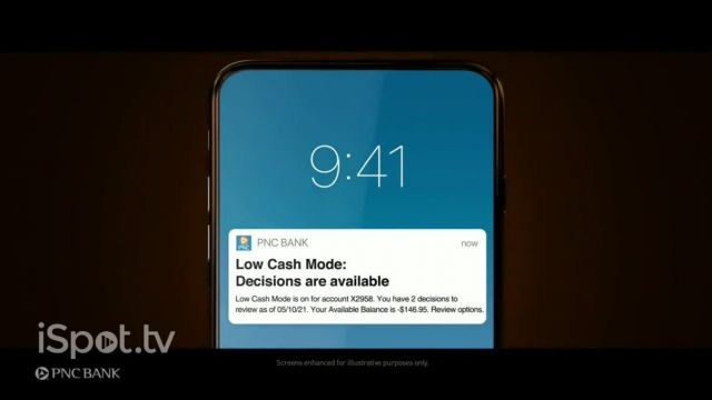 PNC Financial Services Low Cash Mode TV Commercial Ad 2021, The Sound of Change