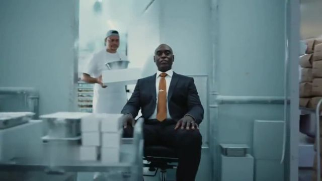 Three Insurance TV Commercial Ad 2021, Bakery' Featuring Lance Reddick