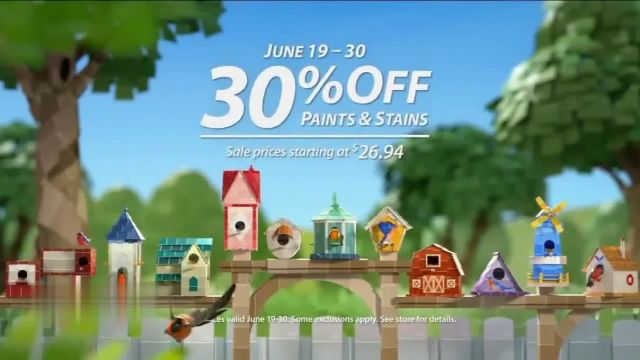 Sherwin-Williams TV Commercial Ad 2021, Dress Your Nest- 30percent Off