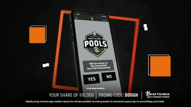DraftKings Drive for Dough TV Commercial Ad 2021, PGA Tour- There's Still Time