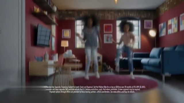 Peloton Classes TV Commercial Ad 2021, Come On, Peloton- Starting at $49 a Month' Song by L'Tric & Chloe Wilson