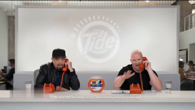 Tide TV Commercial Ad 2021, Cold Callers- Turn to Cold With Annie Murphy' Ft Ice-T, Steve Austin