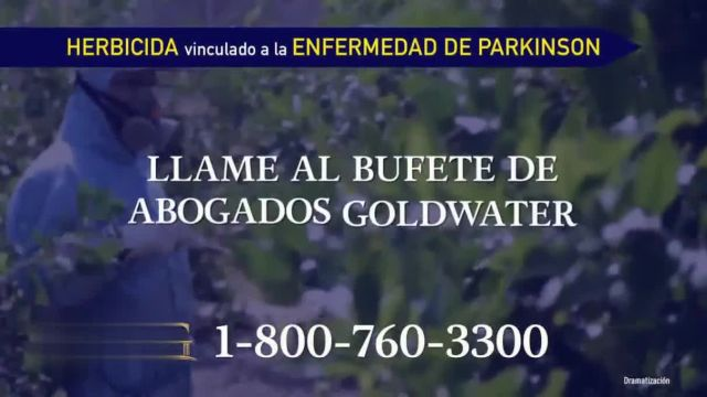 Goldwater Law Firm TV Commercial Ad 2021, Herbicida