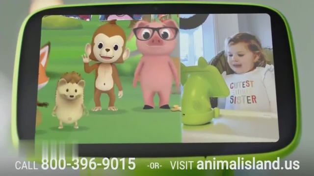 Animal Island Learning Adventure Sit & Play TV Commercial Ad 2021, AILA+- 40percent Off