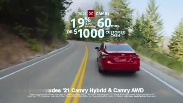 Toyota Run the Numbers Summer Getaway TV Commercial Ad 2021, Time to Get Away- Sedans'