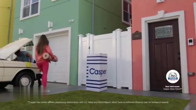 Casper 4th of July Sale TV Commercial Ad 2021, Delivering Better Sleep- 20percent Off