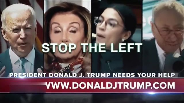 Save America JFC TV Commercial Ad 2021, America First Republicans' Featuring Donald Trump