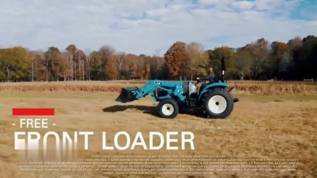 LS Tractor TV Commercial Ad 2021, More for Less