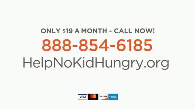 No Kid Hungry TV Commercial Ad 2021, Help Kids Succeed- Free T-Shirt