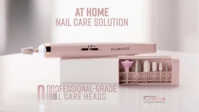 Finishing Touch Flawless Salon Nails TV Commercial Ad 2021, Spa Quality Nail Treatment