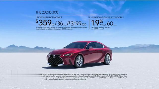 Lexus Golden Opportunity Sales Event TV Commercial Ad 2021, Performance- Rush Hour