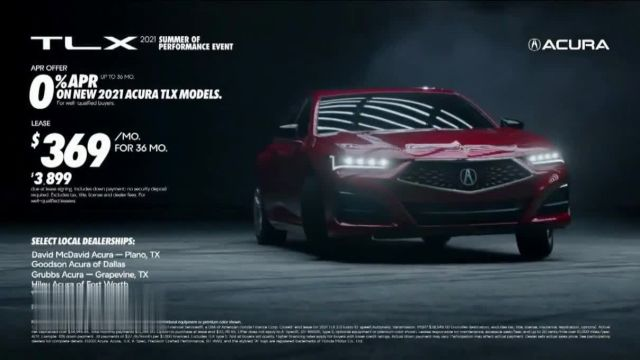 Acura Summer of Performance Event TV Commercial Ad 2021, React Instantly- TLX