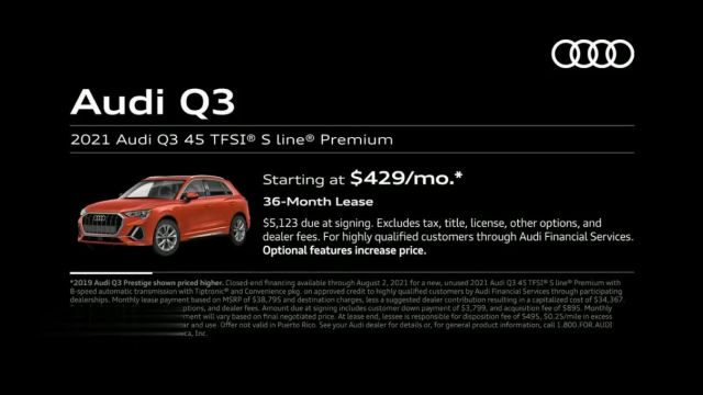 2021 Audi Q3 TV Commercial Ad 2021, Around Town
