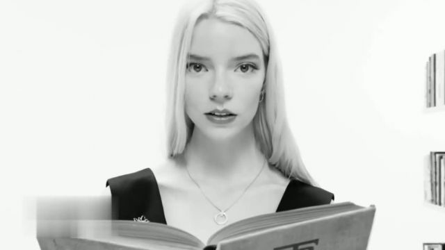 Tiffany & Co T1 TV Commercial Ad 2021, Books' Featuring Anya Taylor-Joy
