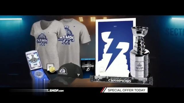 NHL Shop TV Commercial Ad 2021, 2021 Official Cup Collection