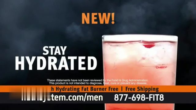 Nutrisystem for Men Hydrating Fat Burner TV Commercial Ad 2021, New Normal- One Month Free