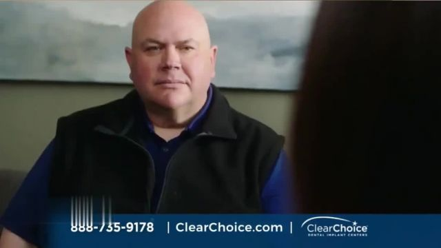 ClearChoice TV Commercial Ad 2021, Joe's Story