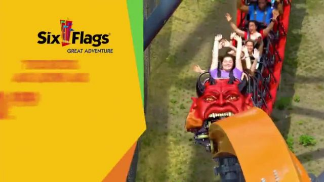 Six Flags Great Adventure TV Commercial Ad 2021, Thrill is Calling- Jersey Devil Coaster
