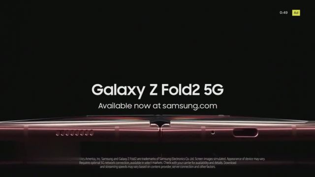 Samsung Galaxy Z Fold2 5G TV Commercial Ad 2021, Reveal