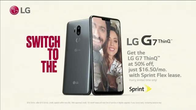 LG G7 ThinQ TV Commercial Ad 2021, What's It Gonna Take- 50percent Off