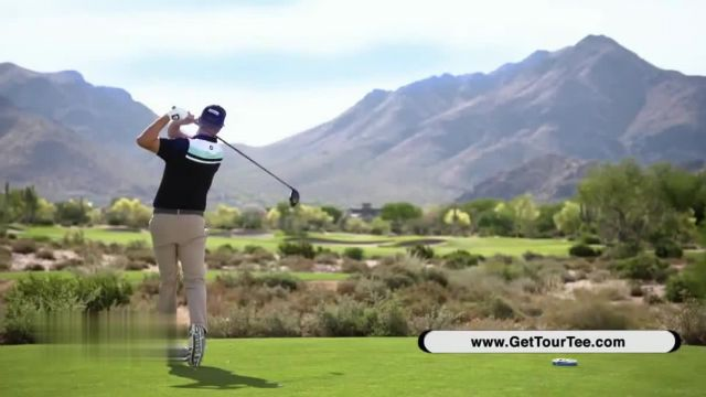 TourTee Golf Tees TV Commercial Ad 2021, Technology in Tees' Featuring Peter and John Kostis