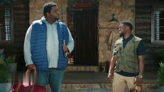 Chase Freedom Unlimited TV Commercial Ad 2021, Fishing' Featuring Kevin Hart
