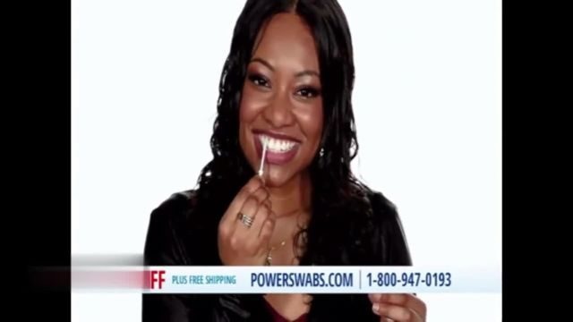 Power Swabs TV Commercial Ad 2021, Mona Lisa Smile