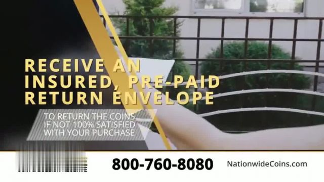 Nationwide Coin & Bullion Reserve TV Commercial Ad 2021, Start Collecting- 10-Day Risk Free Viewing